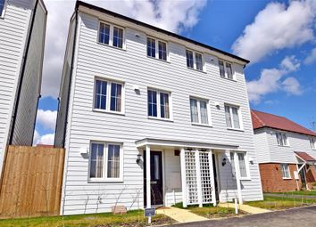 Thumbnail 3 bed semi-detached house for sale in Quarry Way, Martello Lakes, Hythe, Kent