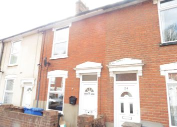 Thumbnail 2 bedroom terraced house to rent in Myrtle Road, Ipswich