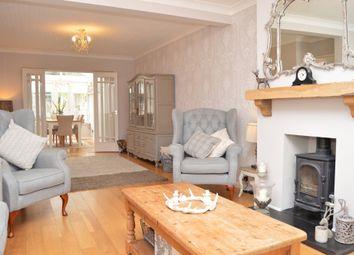 Thumbnail 4 bed semi-detached house for sale in Hospital Crescent, Gubbins Lane, Harold Wood, Romford