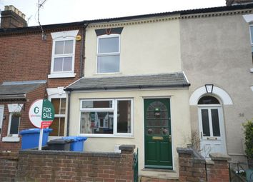 Thumbnail 3 bed terraced house for sale in Carlyle Road, Norwich