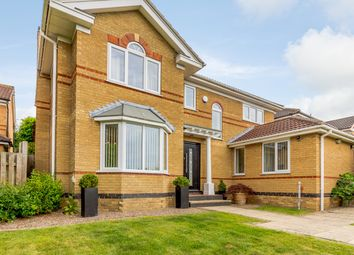 Thumbnail 4 bed detached house for sale in Fairburn Croft Crescent, Chesterfield, Derbyshire