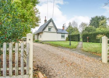 Thumbnail 3 bed detached house for sale in Coltsfoot Green, Wickhambrook, Newmarket