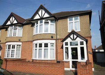 Thumbnail 3 bed semi-detached house for sale in Woodville Road, South Woodford, London