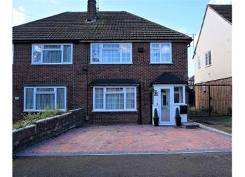 Thumbnail 3 bed semi-detached house for sale in Cheviot Road, Luton