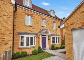 Thumbnail 4 bed town house for sale in Hedgers Way, Kingsnorth, Ashford