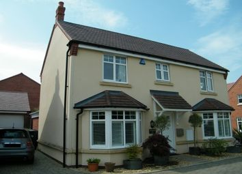 Thumbnail 4 bed detached house to rent in Poppy Close, Stratford-Upon-Avon