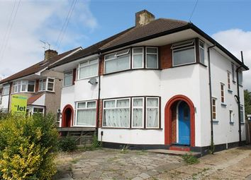 Thumbnail 3 bed semi-detached house to rent in Felbridge Avenue, Stanmore