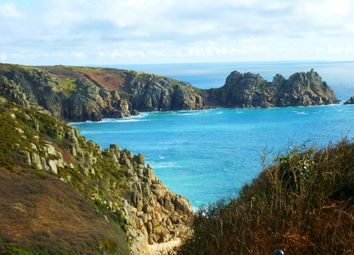 Thumbnail 2 bed flat for sale in Porthcurno, St. Levan, Penzance