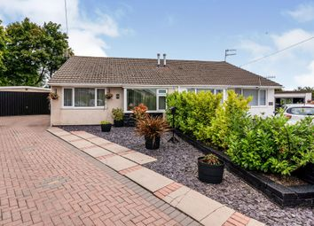 Thumbnail 2 bed semi-detached bungalow for sale in Hadrians Close, Gelligaer, Hengoed