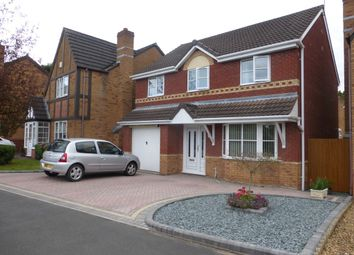 Thumbnail 4 bed detached house for sale in Burslem Close, Bloxwich, Walsall