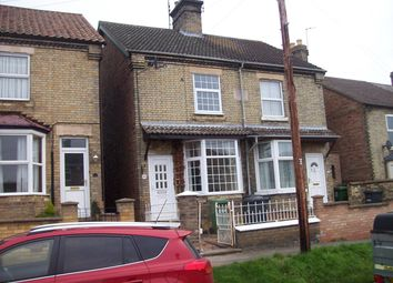 Thumbnail 3 bed semi-detached house to rent in Chapel Street, Yaxley, Peterborough