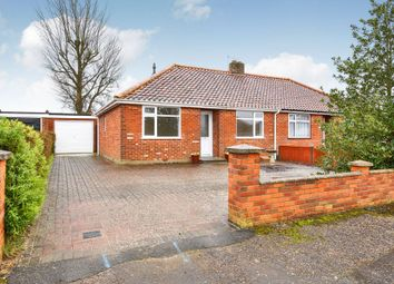 Thumbnail 2 bed bungalow for sale in Links Close, Norwich, Norfolk