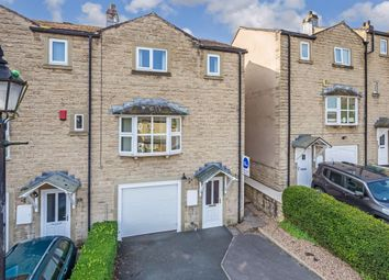 Thumbnail 3 bed town house for sale in Bobbin Mill Court, Steeton, Keighley
