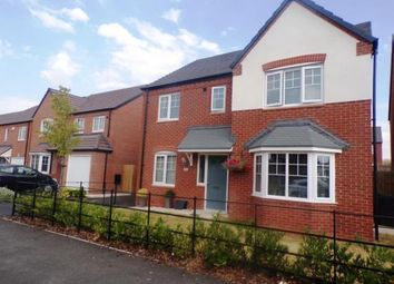 Thumbnail 4 bed detached house for sale in Chetwynd Drive, Grendon, Atherstone, Warwickshire