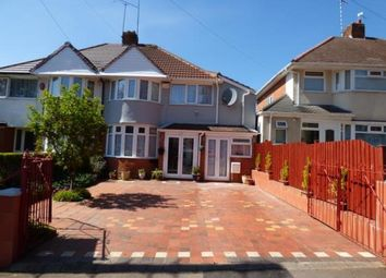 Thumbnail 4 bedroom semi-detached house for sale in Yarningale Road, Birmingham, West Midlands