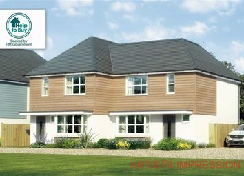 Thumbnail 3 bed semi-detached house for sale in Apple Tree Close, Glenville Road, Walkford, Christchurch, Dorset