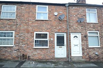 Thumbnail 2 bed terraced house to rent in Crompton Road, Macclesfield