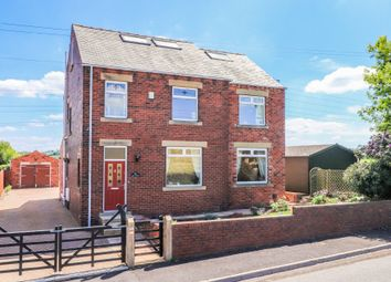 Thumbnail 5 bed detached house for sale in Whitley Road, Whitley, Dewsbury