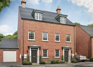 "Thumbnail 3 bedroom terraced house for sale in ""Greenwood"" at Wookey Hole Road, Wells"