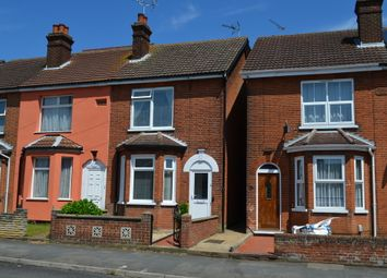 Thumbnail 3 bedroom end terrace house for sale in High Road West, Felixstowe