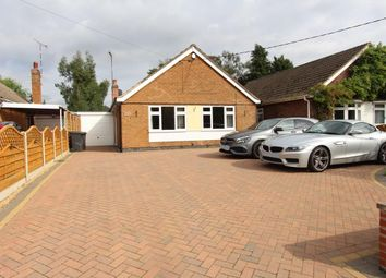 Thumbnail 3 bed detached bungalow for sale in Hillmorton Lane, Lilbourne, Rugby