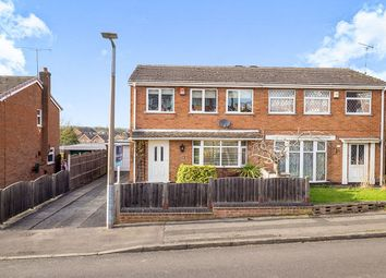Thumbnail 3 bed semi-detached house for sale in Ash Grove, Brinsley, Nottingham