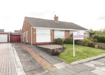 Thumbnail 2 bed semi-detached bungalow for sale in Spalding Road, Hartlepool