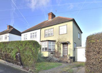 Thumbnail 3 bed semi-detached house for sale in Cranmore Road, Chislehurst, Kent