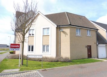 Thumbnail 3 bedroom semi-detached house for sale in Ganymede Close, Ipswich