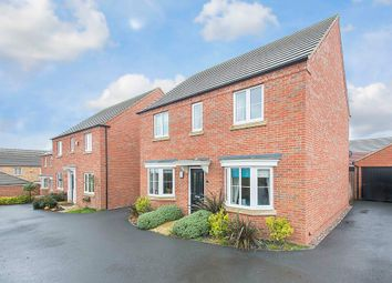 Thumbnail 4 bed detached house for sale in Coniston Close, Corby