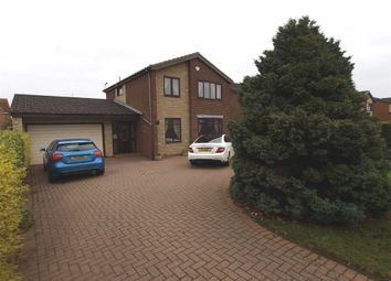 Thumbnail 4 bed detached house for sale in Ripley Drive, Cramlington