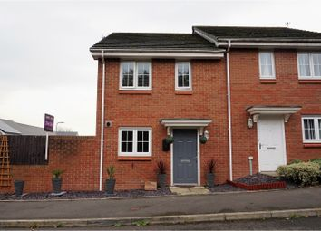 Thumbnail 2 bed semi-detached house for sale in Clos Carno, Newport