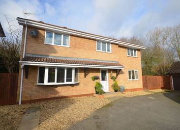 Thumbnail 4 bed detached house for sale in Vantage Meadow, Ecton Brook, Northampton
