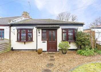Thumbnail 2 bed bungalow for sale in Vicarage Road, Hornchurch