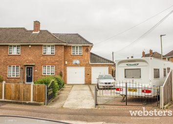 Thumbnail 3 bed semi-detached house for sale in Pettus Road, Norwich