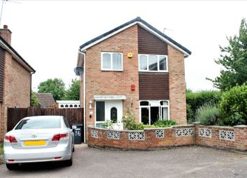 Thumbnail 3 bed detached house to rent in Butler Close, Leicester