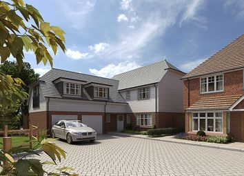 Thumbnail 5 bed detached house for sale in Hitches Lane, Fleet