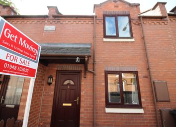 2 bed terraced house for sale in Bridgewater Street, Whitchurch SY13