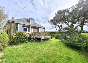 Thumbnail 4 bed detached bungalow for sale in Trannack, Helston