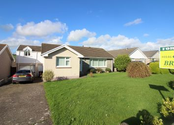 Thumbnail 4 bed detached bungalow for sale in Silverstream Drive, Hakin, Milford Haven, Pembrokeshire.