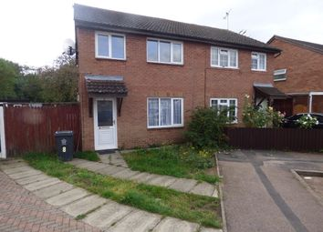 Thumbnail 3 bed semi-detached house for sale in Beman Close, Rushey Mead, Leicester