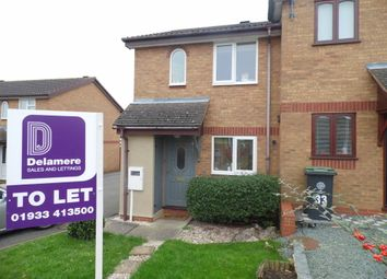 Thumbnail 2 bedroom semi-detached house to rent in Daisy Croft, Rushden