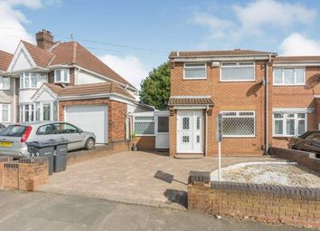Thumbnail 3 bed semi-detached house for sale in Flaxley Road, West Midlands, .
