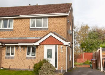 Thumbnail 2 bed semi-detached house for sale in Brookmead Grove, Longton, Stoke-On-Trent