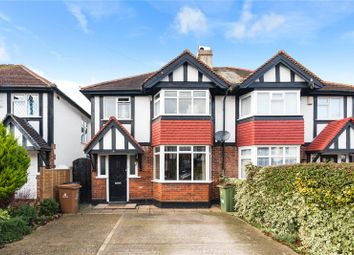 Thumbnail 3 bed semi-detached house for sale in Shepley Close, Carshalton
