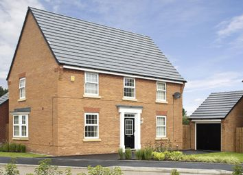 "Thumbnail 4 bedroom detached house for sale in ""Cornell"" at Forest House Lane, Leicester Forest East, Leicester"