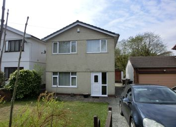 Thumbnail 3 bedroom detached house to rent in Ashwood Drive, Gellinudd, Swansea.