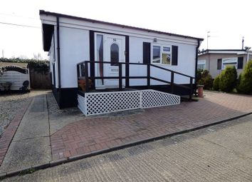 Thumbnail 2 bedroom property for sale in Beeches Mobile Homes Park, Victoria Road, Lowestoft