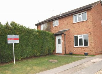 Thumbnail 2 bed semi-detached house to rent in Horton Close, Alcester