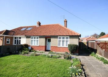 Thumbnail 2 bed semi-detached bungalow for sale in West Road, Great Yarmouth
